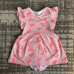 Livly unique baby girl printed dress 3-6M